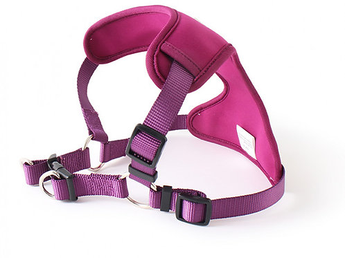 Doodlebone Neo Flex Dog Harness Purple