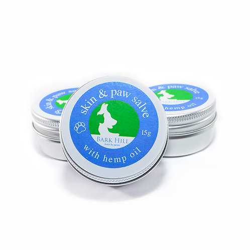Bark Hill Natural Paw Salve With Hemp Oil