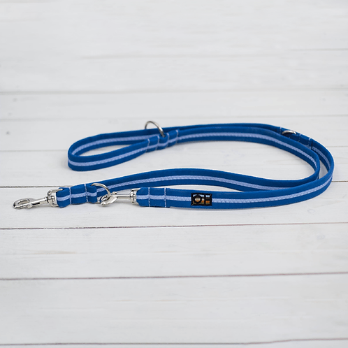 Oscar & Hooch Training Lead Small Royal Blue