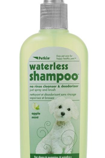 Petkin Waterless Dog Shampoo Apple Mint