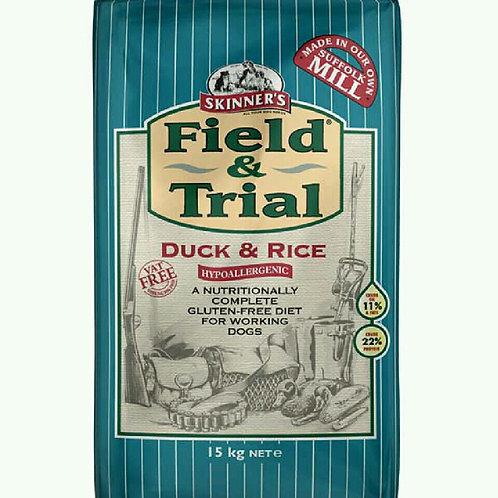 15kg Skinners Field Duck & Rice