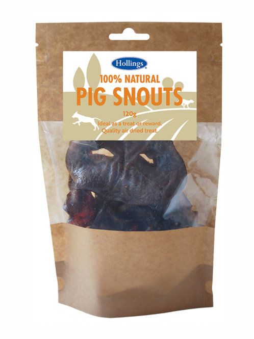Holling's natural Pig Snouts Dog Treats