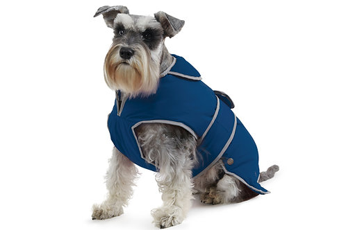 Ancol Stormguard Muddy Paws Dog Coat blue
