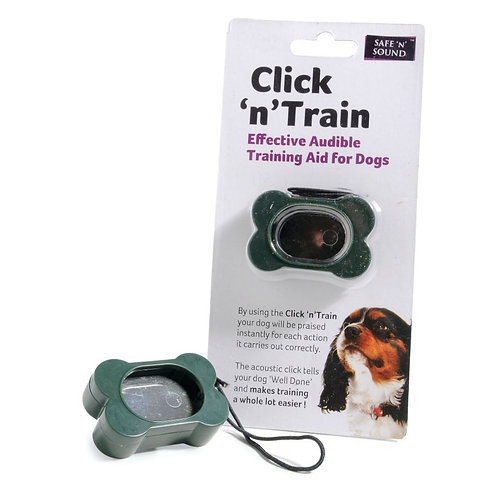 Click 'n' train dog training clicker