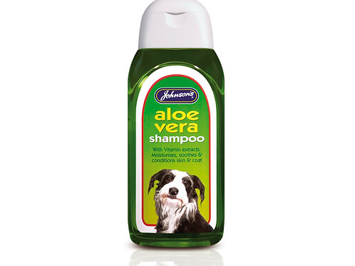 Johnson's Aloe Vera Dog Shampoo 200ml