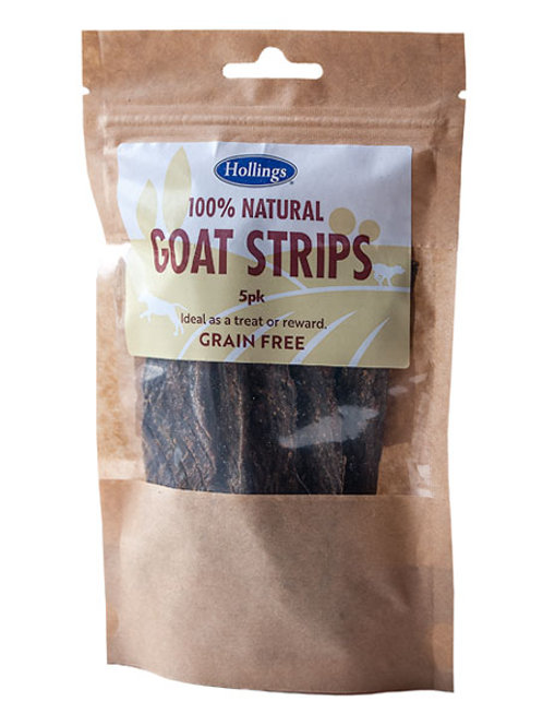 Holling's Natural Goat Strips Dog treats