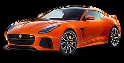 PNGPIX-COM-Orange-Jaguar-F-Type-SVR-Coup