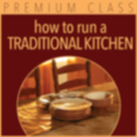 How to run a traditional kitchen icon-mi