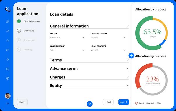 4.2.1 - Loan application - Loan Details.