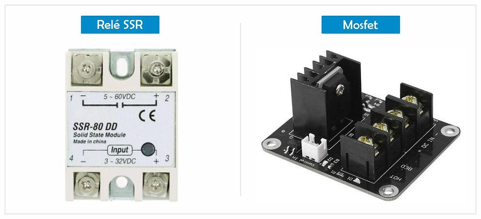 Relé SSR e Mosfet para Impressora 3D.jpg
