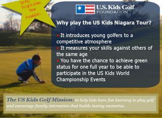 Register now for the 2015 Spring US Kids Golf Niagara Tour!