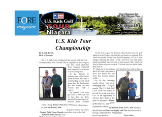 Feature In FORE Magazine