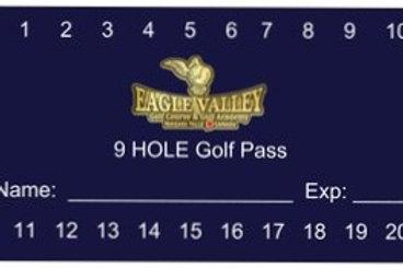 20 Round Golf Pass