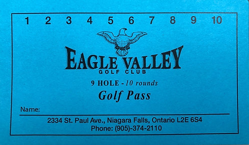 10 Round Golf Pass
