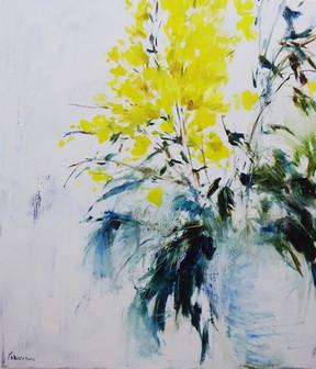 פרחים בצהוב