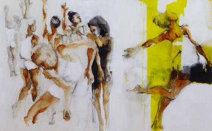 רקדנים בצהוב sold