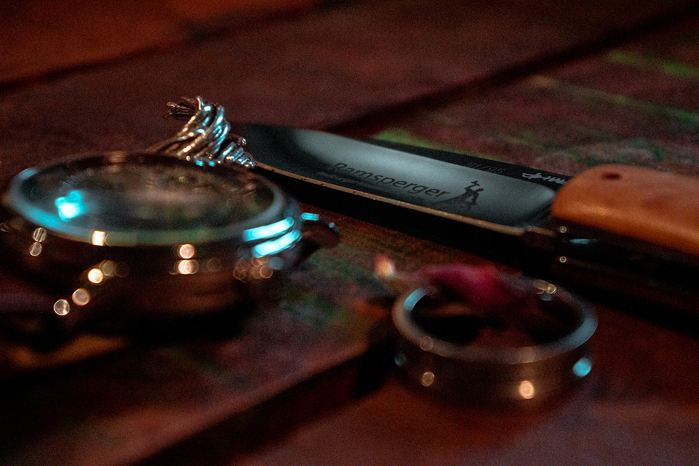 Messer der Ramsperger Schmiede aus Freiburg im Breisgau