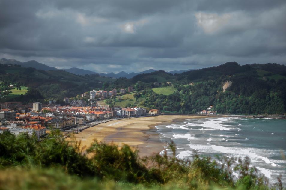 Zarautz im Baskenland Spanien