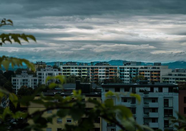 Freiburg Plattenbauten