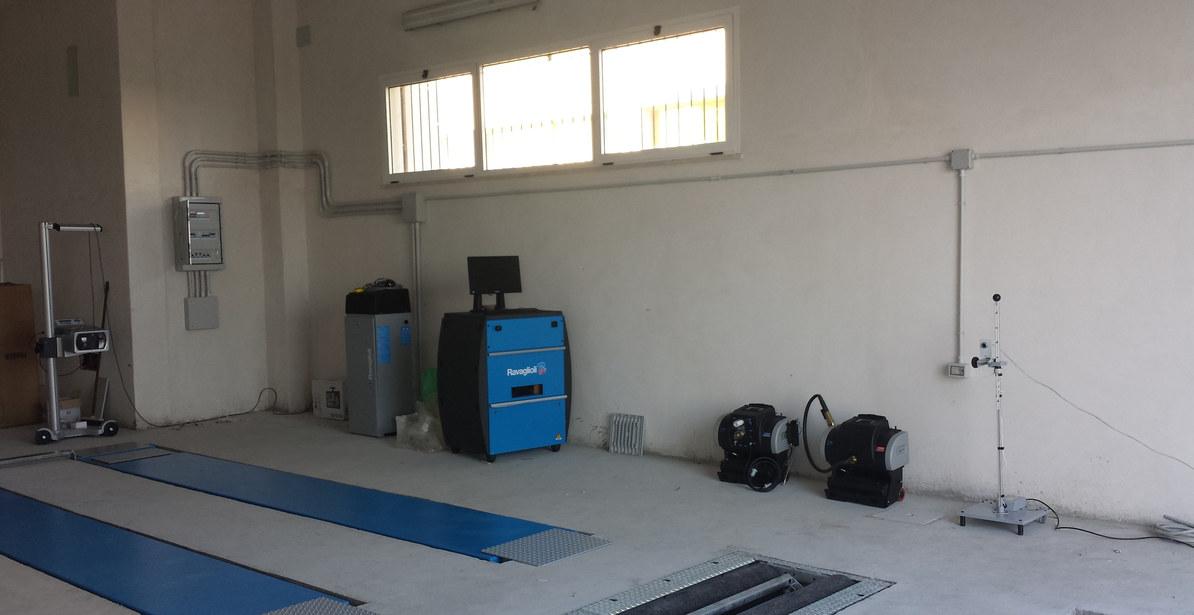 Installazione Centro Revisioni Ravaglioli