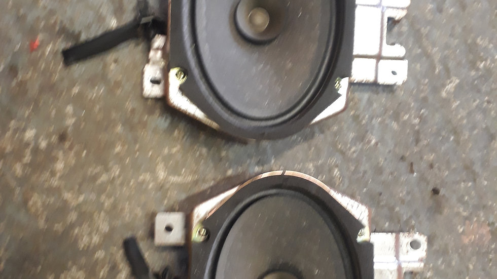 Mazda Bongo pair of speakers for the rear seating area
