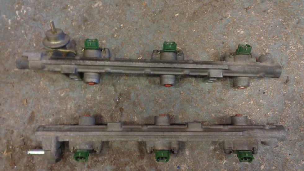 Mazda Bongo 2.5 V6 set of petrol injectors and rails