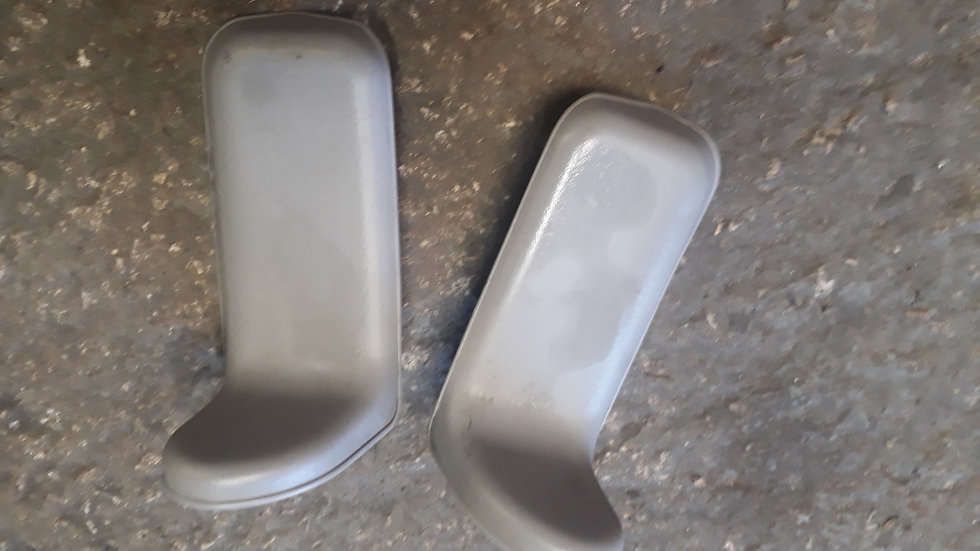 Mazda Bongo pair of hinge covers for rear fold down seats