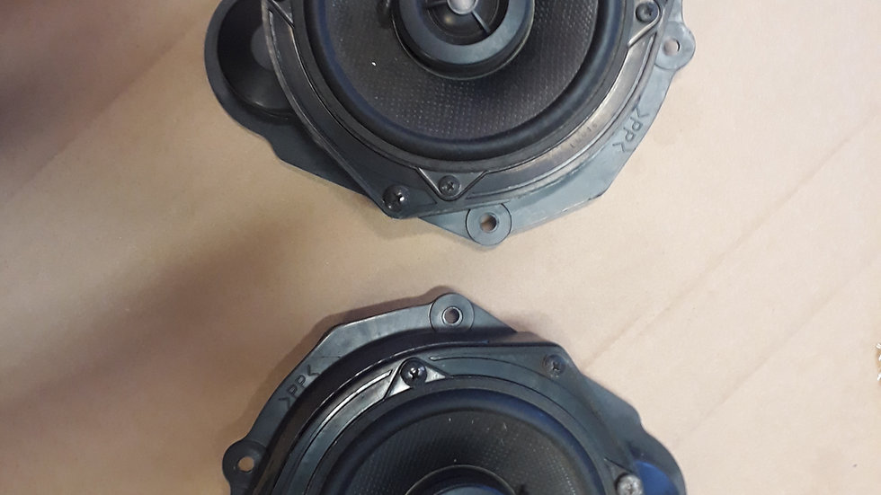 Mazda Bongo pair of front door speakers aftermarket clarion