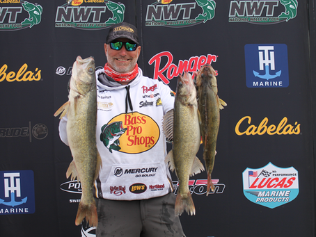 Randy's Rigs Pro Brian Bashore, Pulls Off a 14th Place finish using Randy' Rigs with Creek Chubs.