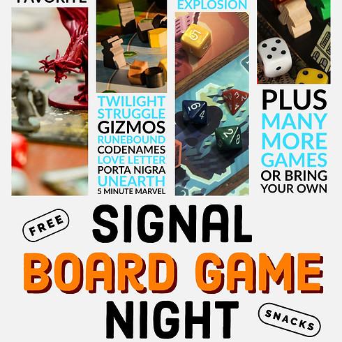 Signal Board Game Night