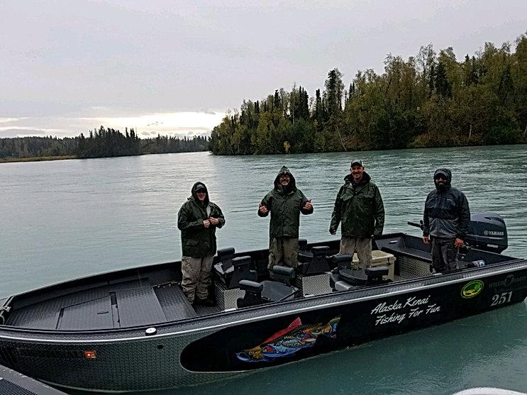 Kenai River Fishing Guide Willie Boat Classic