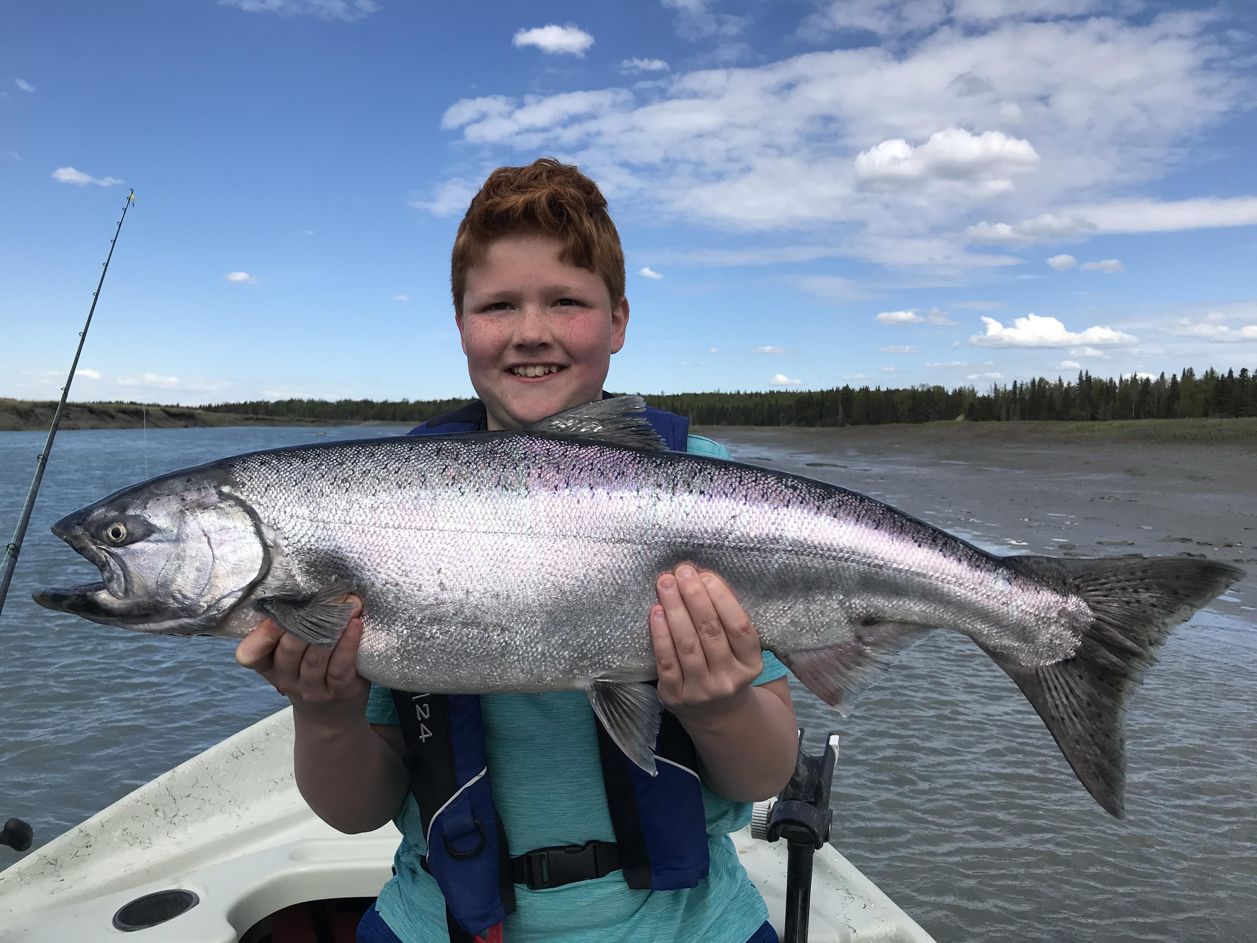 Kasilof River King Salmon