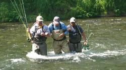 Russian River Fishing Guides Brad Kirr and James Walker