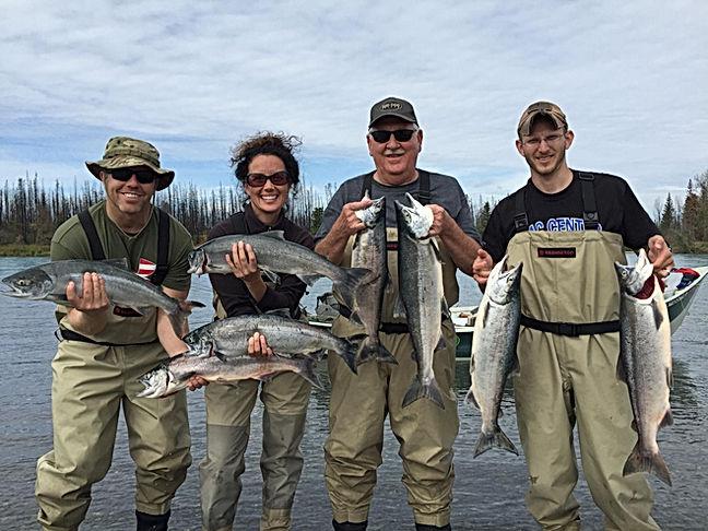 Sockeye Salmon Limits Kenai River