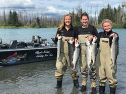 Kenai River Women Sockeye Salmon