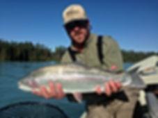 James Walker Fishing Guide Kenai River Rainbow Trout