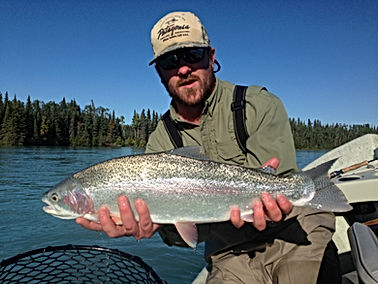 James Walker Fishing Guide Kenai River Rainbow Trout