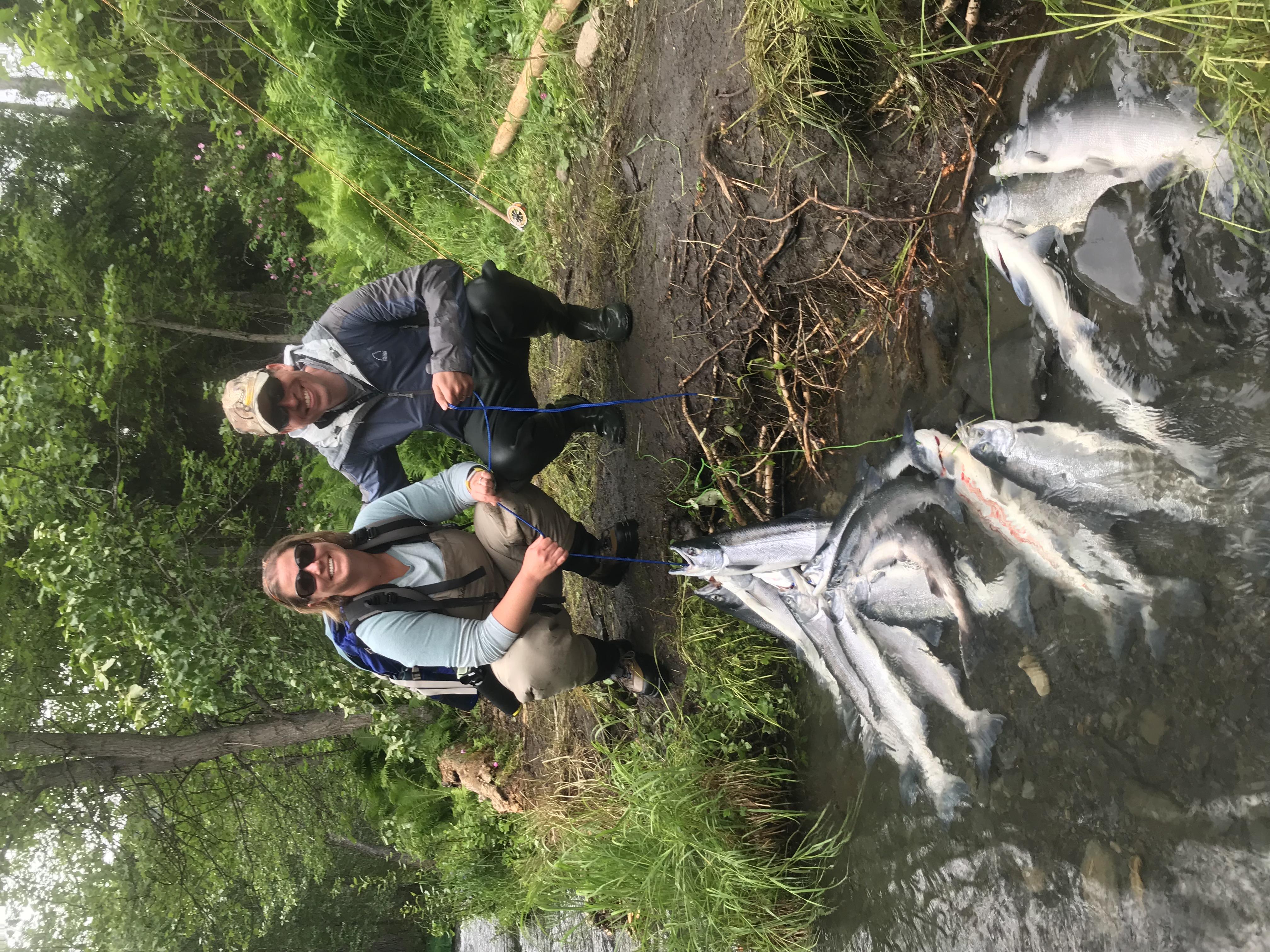 Russian River Cooper Landing Sockeye Salmon