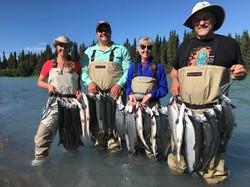 Kasiliof River Sockeye Salmon Limits