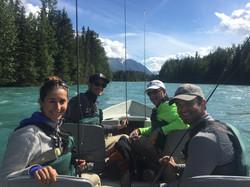 Upper Kenai River Driftboat Fishing