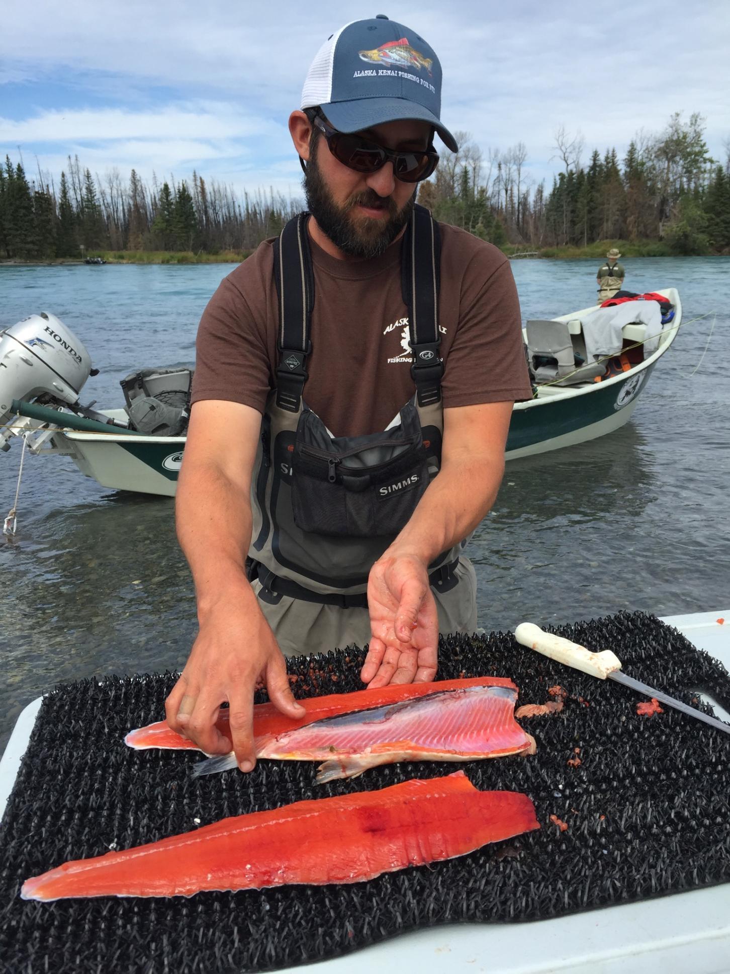 Brad Kirr Salmon Fillets