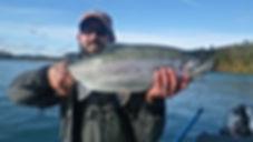 Brad Kirr Fishing Guide Kenai River Rainbow Trout
