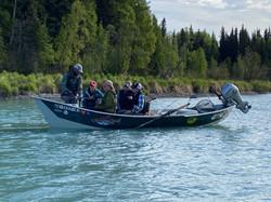 Kasilof River Driftboat Fishing