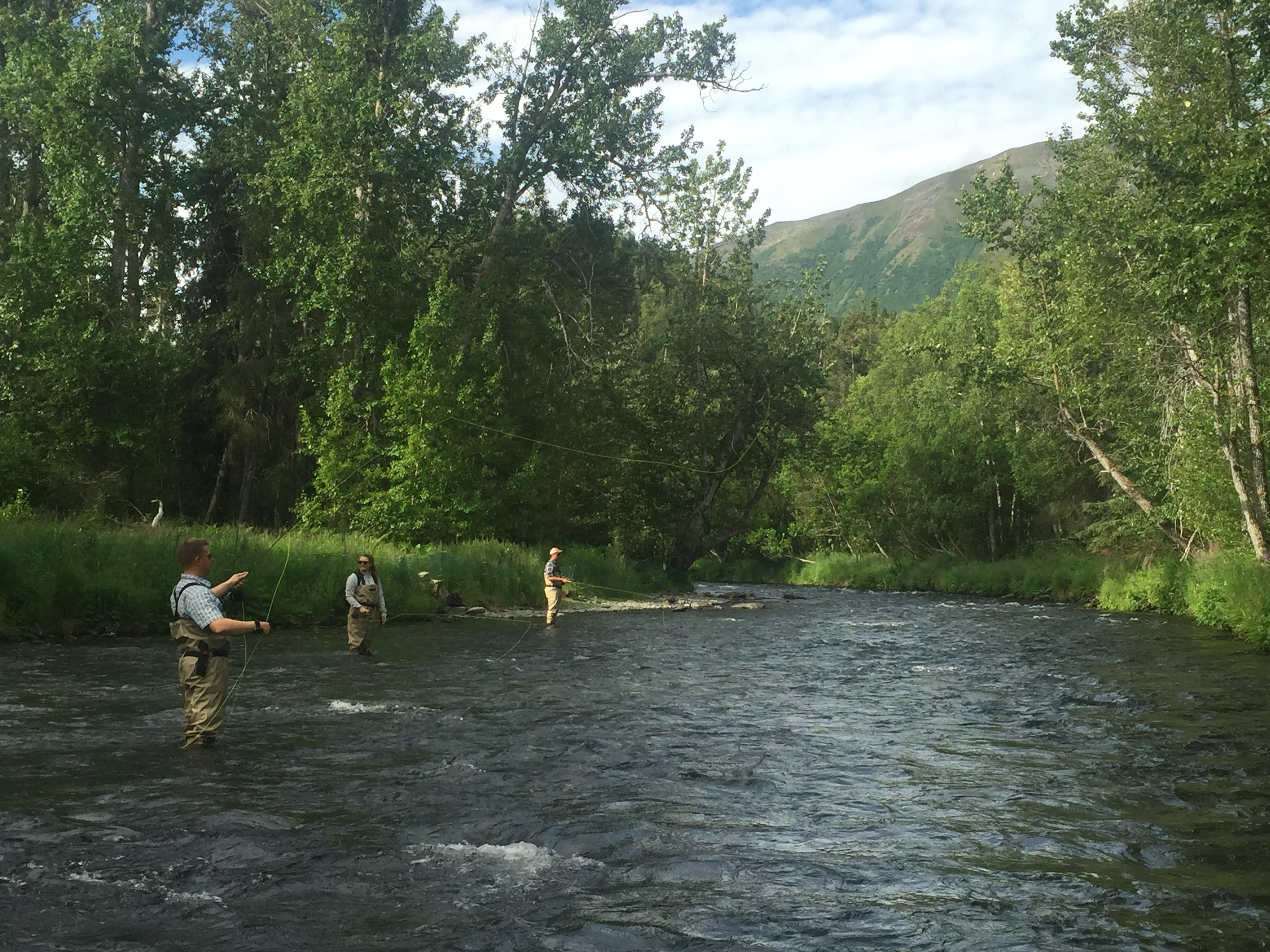 Russina River Cooper Landing Flyfishing