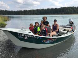 Kasilof River Driftboat Family Fun