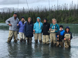Kenai River Family Fishing
