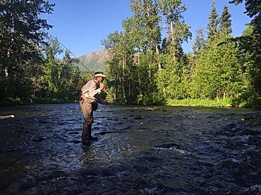 Russian River Cooper Landing Flyfishing