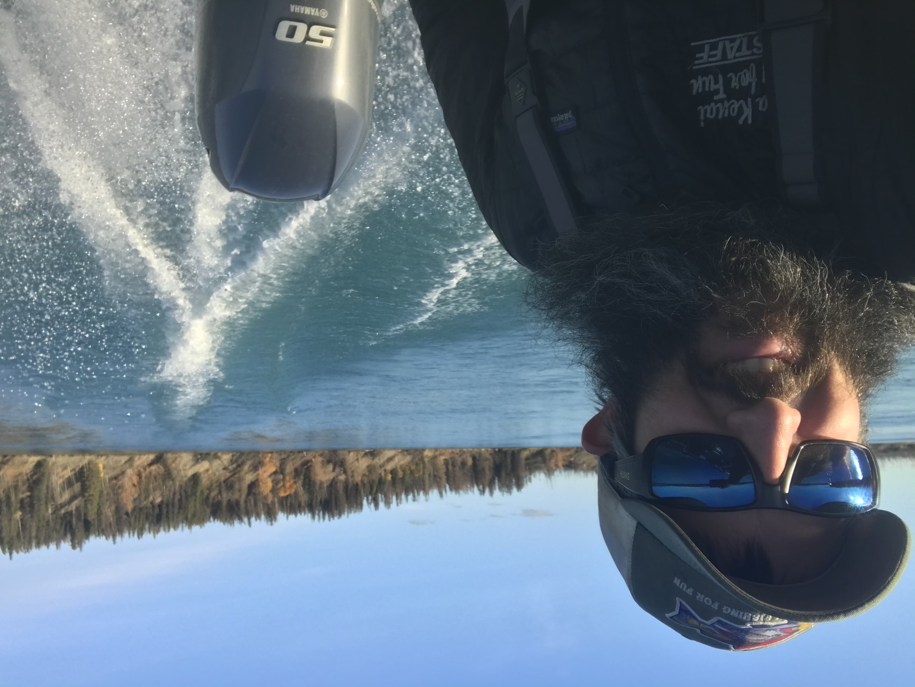 Brad Kirr Kenai River Fishing Guide Willie Boats Yamaha