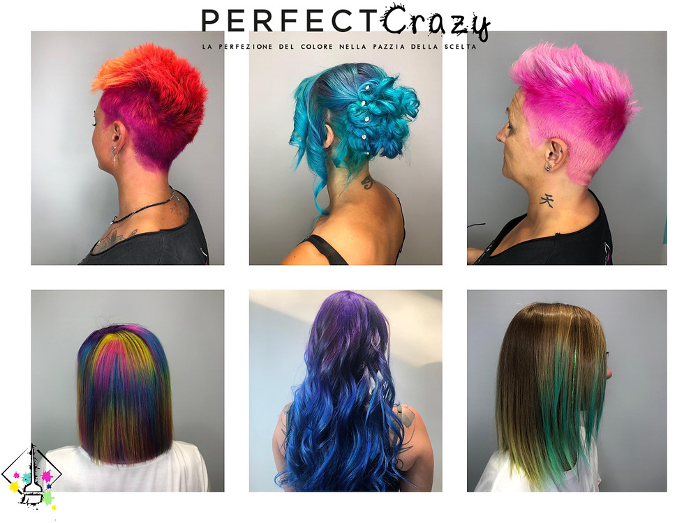 Colori Crazy, Shineline, Bright hair, Tinsel hair, Pastel