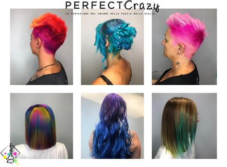 Come scegliere il colore dopo l'estate? Per colori Crazy, Pastel, Bright hair (Tinsel hair) o Shinel